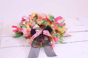 Mothers Day Wreath kit Demonstration