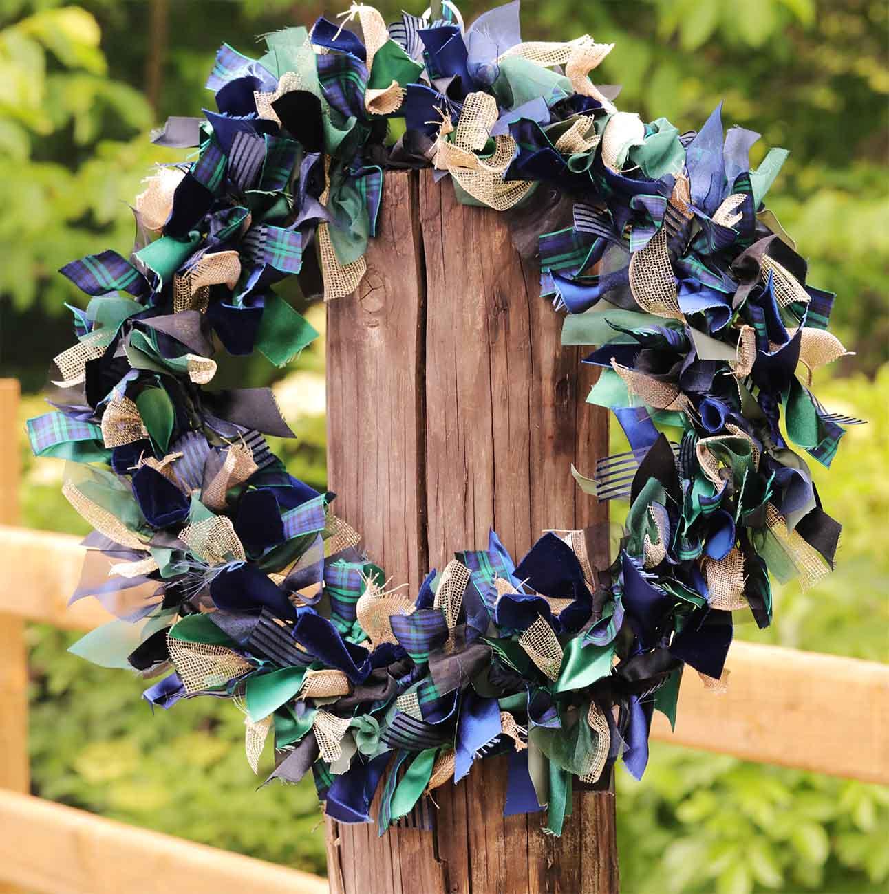 Ribbon Wreath Kits