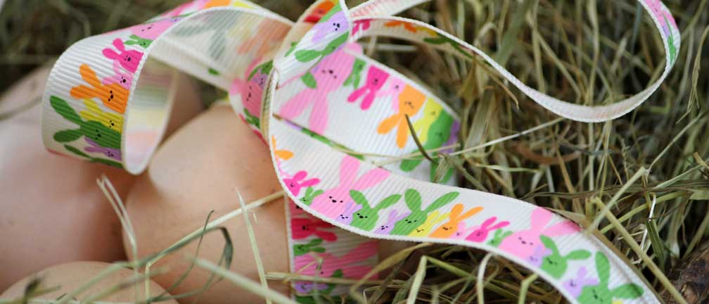 Easter Themed Ribbons