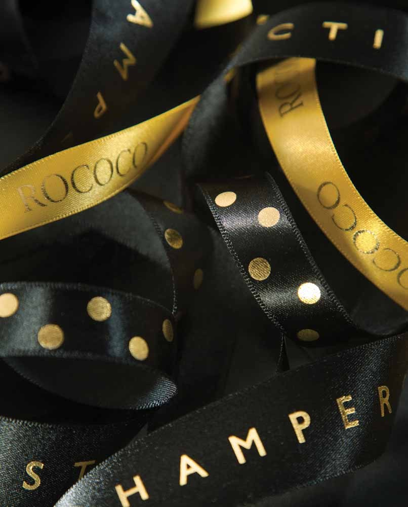 Personalised Ribbon Printing