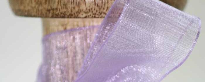 Premium Plain Sheer Ribbons