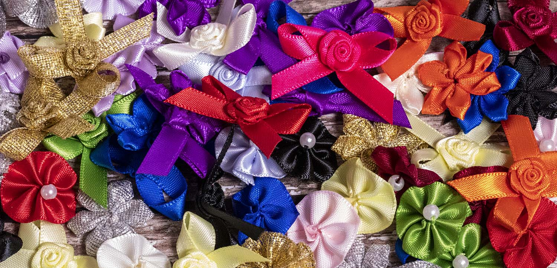 Ribbon Bows & Roses