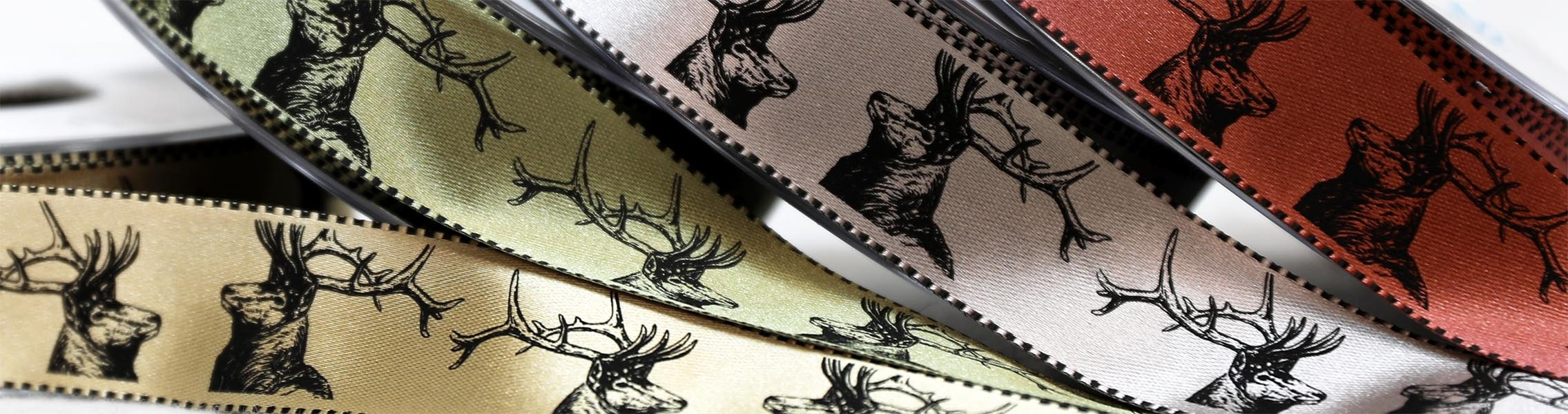 Stag & Deer Ribbons
