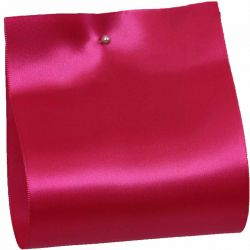 100mm x 50m Single Satin Wide Ribbon  col: Cerise