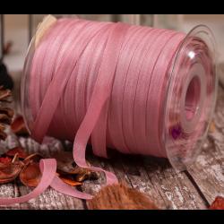 10mm Bulk Reel Dusky Pink Rustic Taffeta Ribbon x 250m