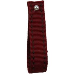 Stitched Grosgrain Ribbon By Shindo in Wine in 5mm-12mm-15mm