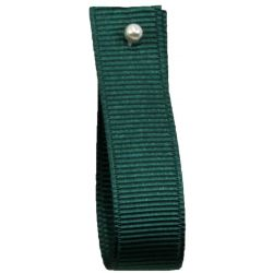Grosgrain Ribbon By Shindo 10mm x 25m Col: Bottle Green