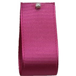 Grosgrain Ribbon By Shindo 25mm x 25m Col: Hot Pink