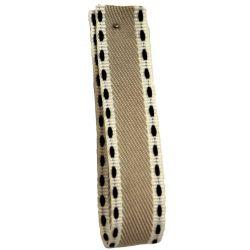 Vintage Stitch Ribbon 15mm x 15m col 5 - Beige