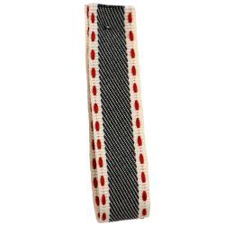 Vintage Stitch Ribbon 15mm x 4m col 1 - Denim