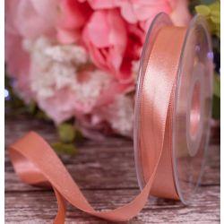 15mm x 20m Rose Gold  Double Satin Ribbon
