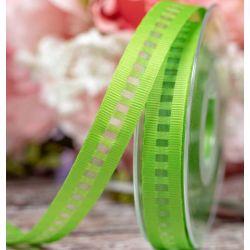 15mm Green Ladder Grosgrain Ribbon By Berisfords Ribbons