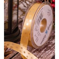 15mm Honey Gold Satin Ribbon