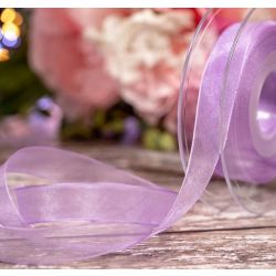 Helio Sheer Ribbons | Organza Ribbons 15mm x 25m By Berisfords Ribbons