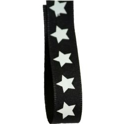 Magic Star Ribbon Article 13950 - 15mm x 20m Col: Black