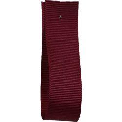 Grosgrain Ribbon 16mm x 20m Colour WINE 9360