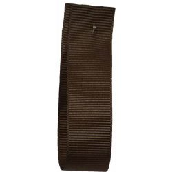 Grosgrain Ribbon 25mm x 20m Colour CHOCOLATE 9669