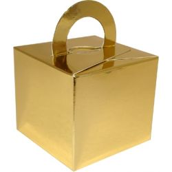 Wedding Favour Box In Gold x 10