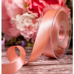 Double Satin Ribbon By Berisfords Ribbons: Dusky Rose - 25mm x 20m
