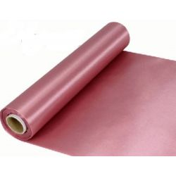 29cm Wide Dusky Pink Cut Edged Satin Fabric