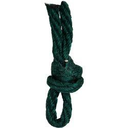Hunter Green Barley Twist Cord By Berisfords Ribbons 5mm x 20m