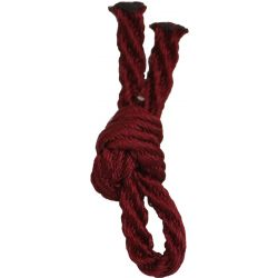 Burgundy Barley Twist Cord By Berisfords Ribbons 5mm x 20m