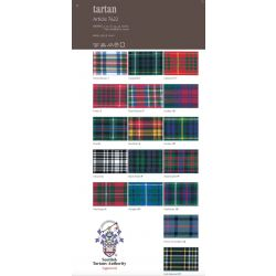 Tartan Ribbon Shade Card