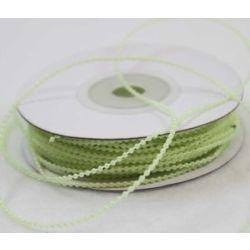 2mm Green Strung Plastic Beads x 20m
