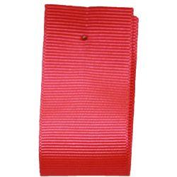 Grosgrain Ribbon 10mm x 20m Colour FLO ORANGE 6844