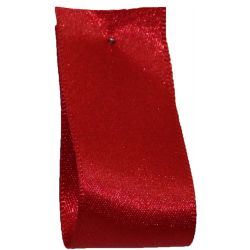 Double Satin Ribbon By Berisfords Ribbons: Dark Red (Col 250) - 3mm - 70mm widths