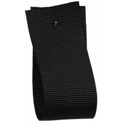 Grosgrain Ribbon 6mm x 20m Colour Black 9725