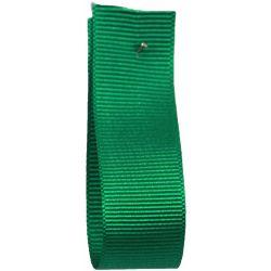 Grosgrain Ribbon EMERALD 9850 - widths  6mm-10mm-16mm-25mm - 40mm