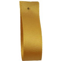 Grosgrain Ribbon 6mm x 20m Colour GOLD 9075