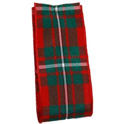 McGregor Tartan Ribbon - available in varying widths from 7mm to 70mm