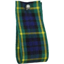 Gordon Tartan Ribbon By Berisfords Ribbons - available in varying widths from 7mm to 40mm