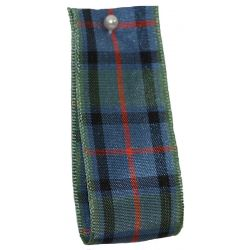 BULK 100M REEL - Flower Of Scotland Tartan Ribbon - available in varying widths from 7mm to 70mm