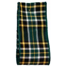 Irish National Tartan Ribbon By Berisfords Ribbons - available in varying widths from 7mm to 40mm