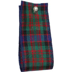 BULK 100M REEL - MacDonald Tartan Ribbon - available in varying widths from 7mm to 40mm