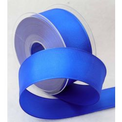 38mm x 20m Wired Taffeta Ribbon In Royal Blue