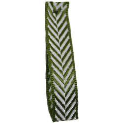 Cypress 25mm Herringbone Ribbon Article 1392