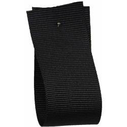 Grosgrain Ribbon 100m BULK REEL in BLACK 9725 - available in 6mm - 40mm widths