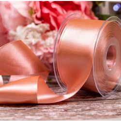 Double Satin Ribbon By Berisfords Ribbons: Dusky Rose