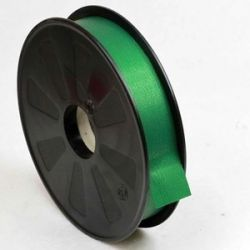 25mm x 100yrds Green Textured Curling Ribbon