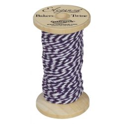 Bakers Twine Wooden Spool 2mm x 15m Purple No.36