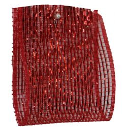 Red Deco Mesh 63mm x 10m