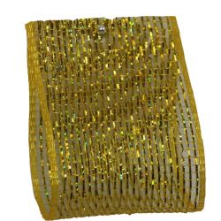 Gold Deco Mesh 63mm x 10m
