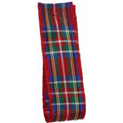 BULK 100M REEL  Royal Stewart Tartan Ribbon -  widths from 7mm to 70mm