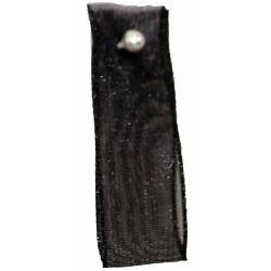Black Sheer Ribbons | Organza Ribbons 40mm x 25m By Berisfords Ribbons