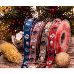 Christmas Bauble Themed Ribbons