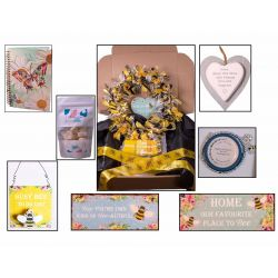 Mothers Day Hamper With Craft Wreath Kit